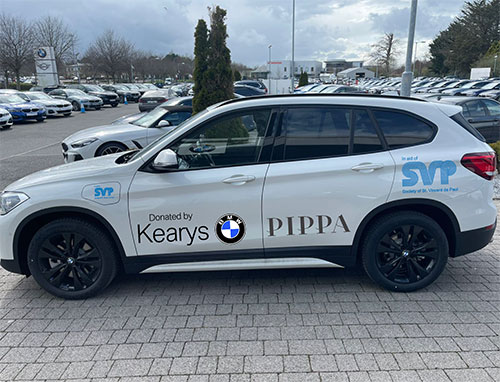 Pippa O'Connor and SVP BMW X1 Giveaway