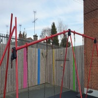 Swings for Drogheda ABACAS Special School for Children with Autism