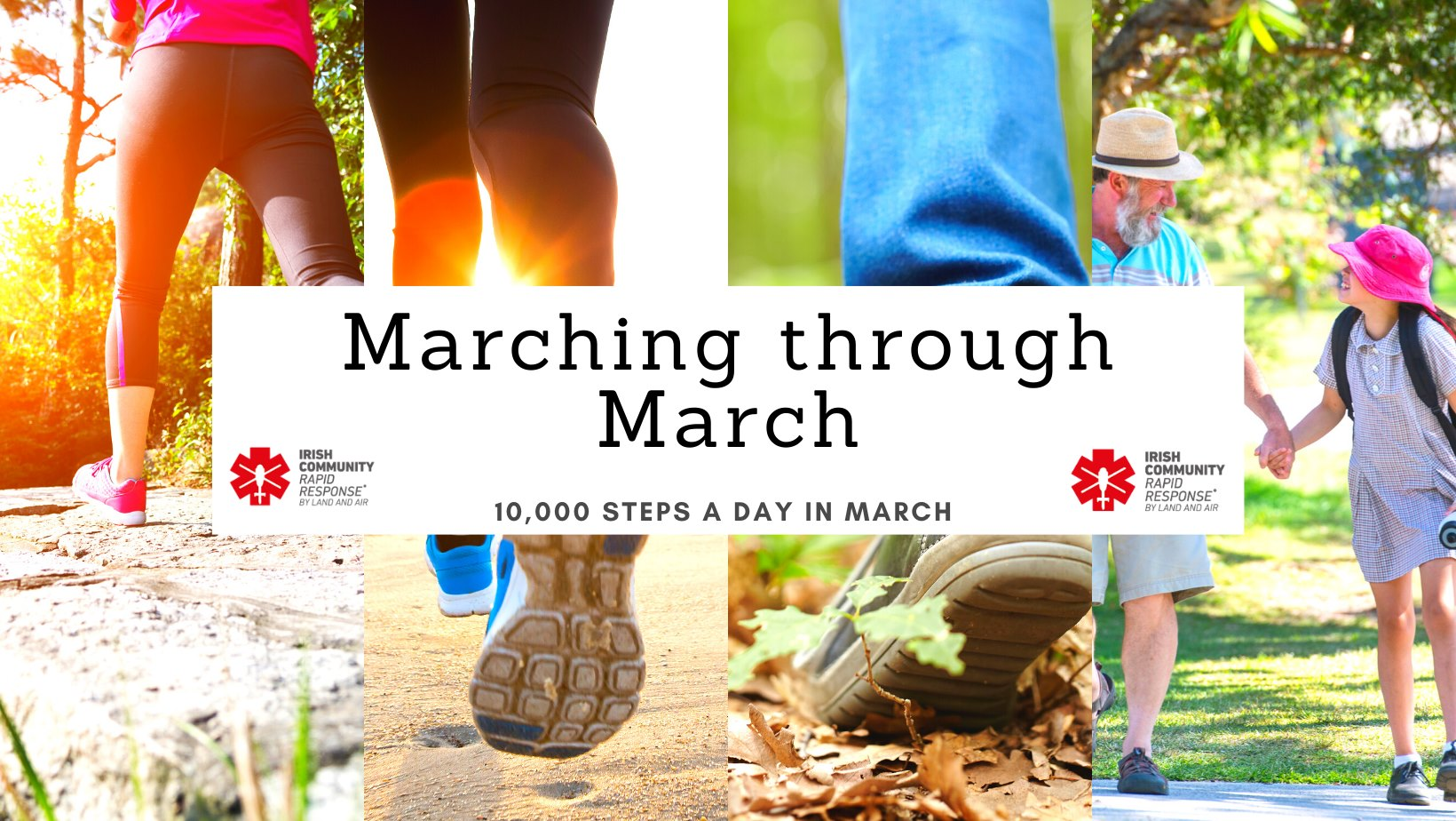 Marching through March - 10,000 steps a day for March