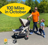 100 Miles in October for Irish Hospice Foundation