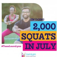 2,000 Squats in July
