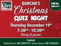 Durcan's Christmas Quiz Night