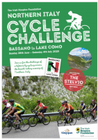 The Irish Hospice Foundation Cycle Challenge 2020 - Northern Italy