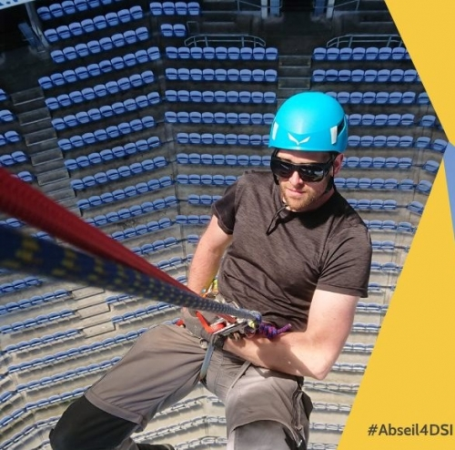 Abseil Croke Park 4 DSI (POSTPONED until autumn 2020)