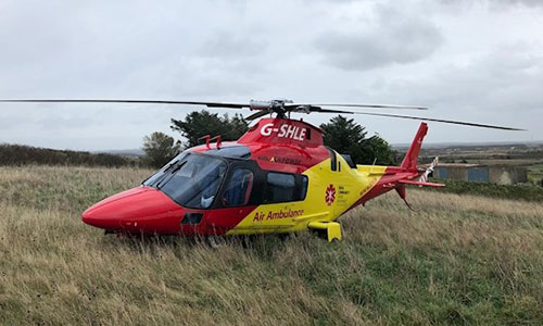 Air Ambulance faces being grounded in two weeks without donation