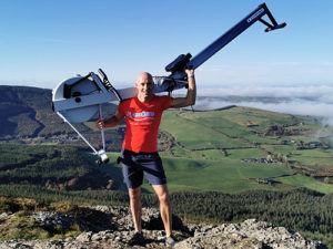 Garda Ken is scaling the heights for terminally ill children