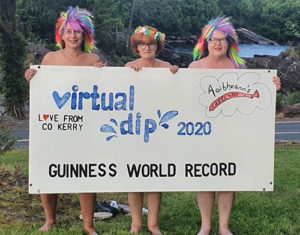 Kenmare Women 'dip' for New World Record