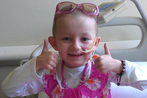 Tiny dancer Lily-Mae - Cancer is in remission
