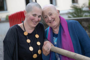 Mother and Daughter Both Shave Their Heads for Pieta