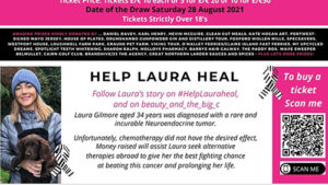 Connaught women launch raffle to support school friend's treatment for rare cancer