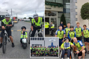 E District gardai's joy after helping to raise €25k for charity which helps children in Ireland with serious illnesses