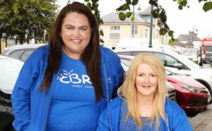 Trisha Lewis leads the 10,000-steps-a-day StepTember Challenge for charity Debra Ireland